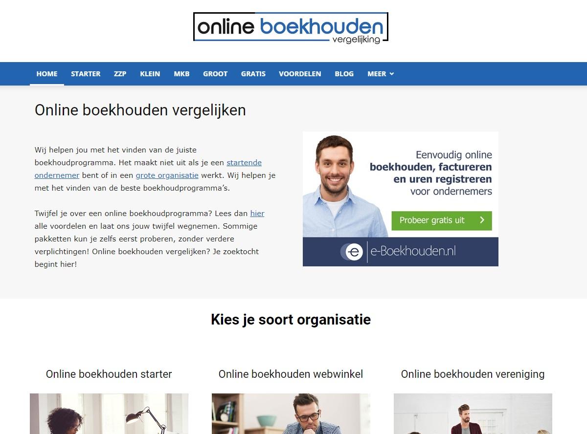 Onlineboekhoudingvergelijken.nl