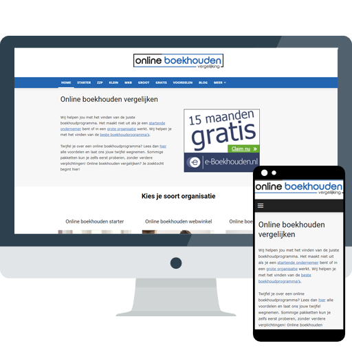 Onlineboekhoudenvergelijking.nl